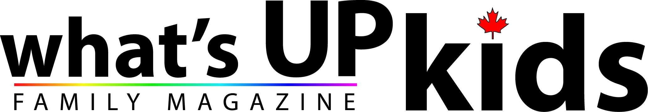 What's Up Kids Magazine Logo